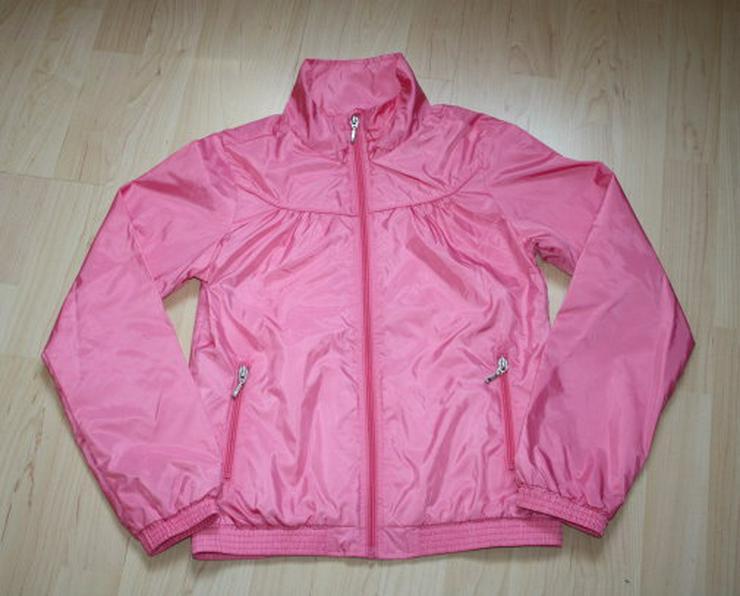 Mädchen Jacke Kinder Übergangsjacke Windjacke Windbreaker Regenjacke Blouson rosa pink Gr. 152 NEU