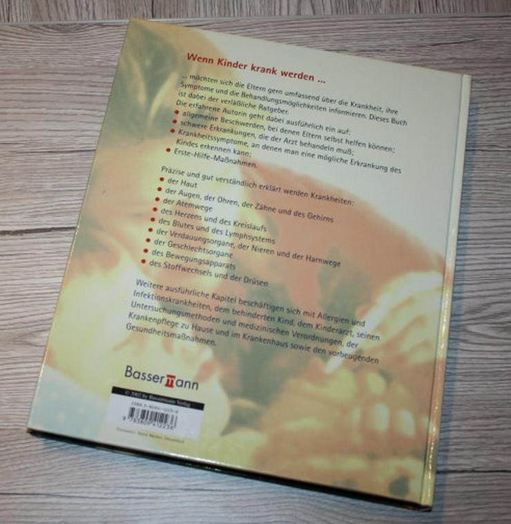 Bild 2: Rat und Hilfe bei Kinderkrankheiten Barbara Nees-Delaval Ratgeber Tipps Symptome Gesundheit Buch NEU