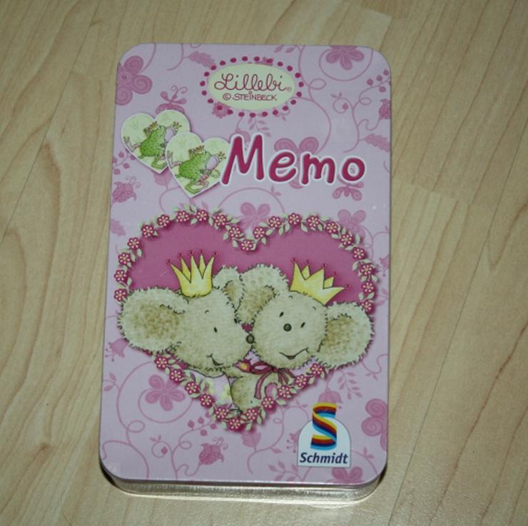 Lillebi Memo Kinder Memory Legespiel Gedächtnisspiel Suchspiel Merkspiel Konzentration Memorie Schmidt Spiele Steinbeck
