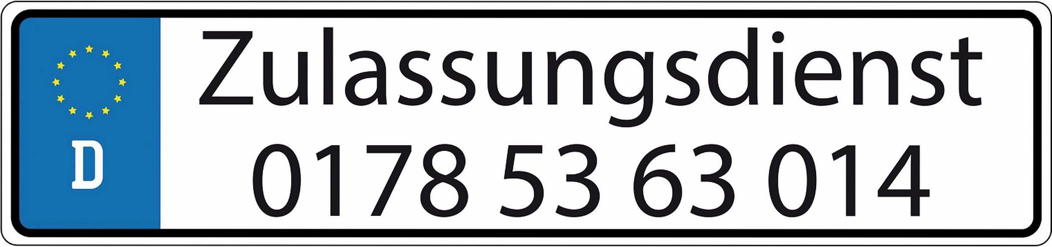 Zulassungsdienst Ruhrgebiet schnell und zuverlässig ab 75 Euro zzgl.........