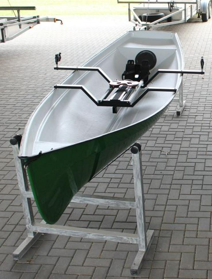 Family Trainer, Ruderboot mit Rollsitz, Whitehall rowing boat
