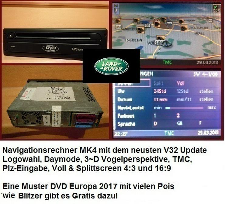 Range Rover Austausch-Navirechner Land Rover (L322- MK3 CD-Rechner) MK4 DVD-Rechner