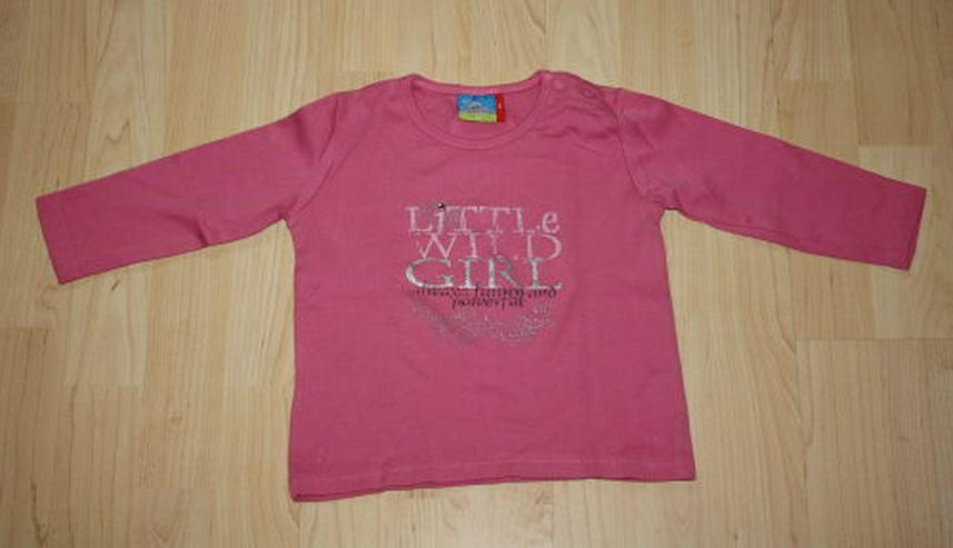 Topolino Mädchen Pullover Kinder Sweatshirt Girl Baby Pulli Langarmshirt Longsleeve pink rosa Gr. 86 NEU