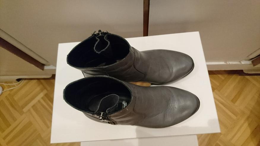 Bild 4: Stiefelette Gr 36 von 5th Avenue Deichmann Leder grau