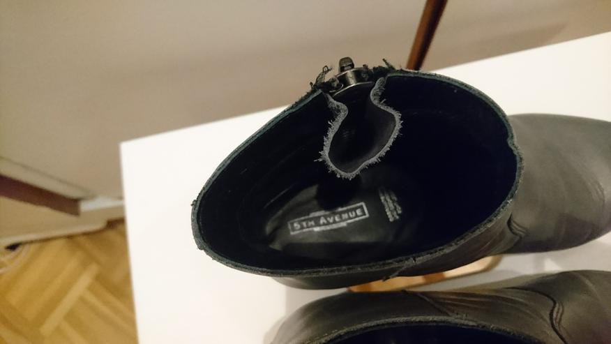 Bild 5: Stiefelette Gr 36 von 5th Avenue Deichmann Leder grau