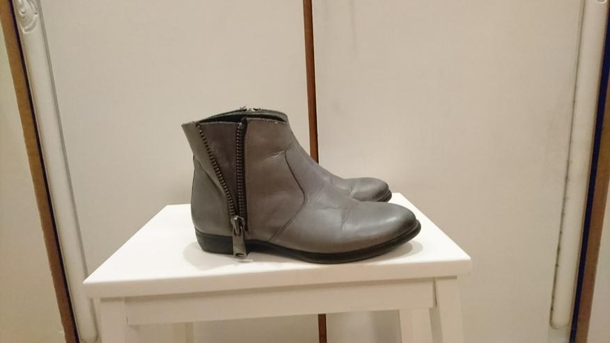 Bild 6: Stiefelette Gr 36 von 5th Avenue Deichmann Leder grau