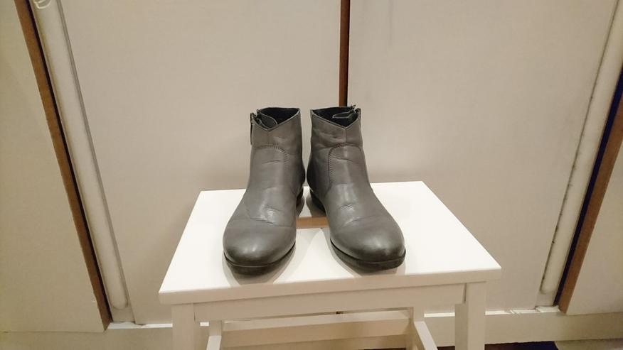 Bild 2: Stiefelette Gr 36 von 5th Avenue Deichmann Leder grau