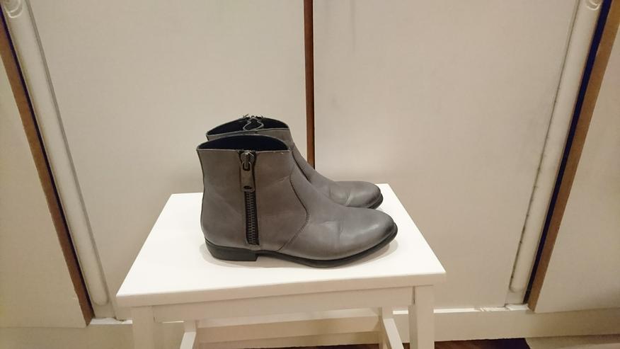 Bild 3: Stiefelette Gr 36 von 5th Avenue Deichmann Leder grau