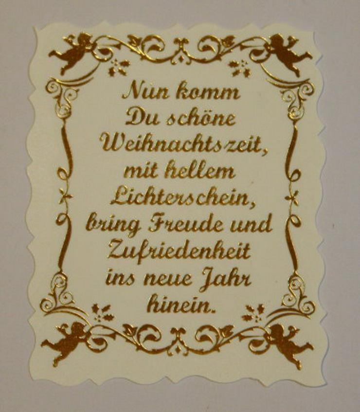 Bild 4: 2 Weihnachtskarten Handarbeit Klappkarten Grußkarten Weihnachten Glückwunschkarten Unikat NEU