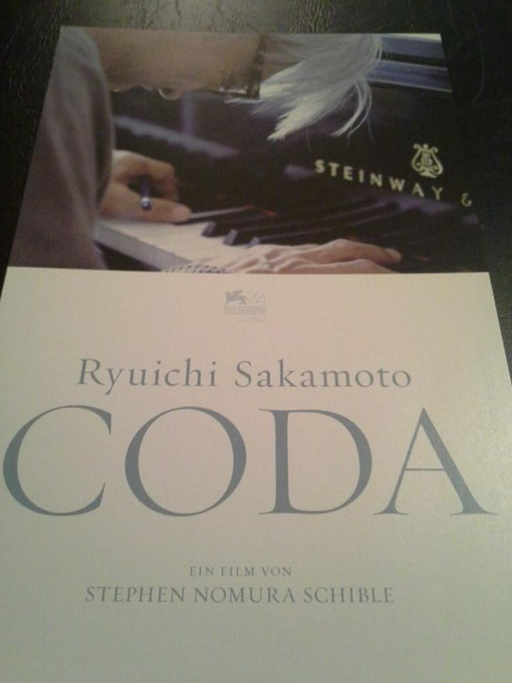 Coda 2017 Flyer Doku Film Sakamoto