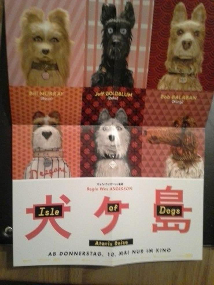 Mini Plakat A4 Isle of Dogs IFB 2018 Berlinale
