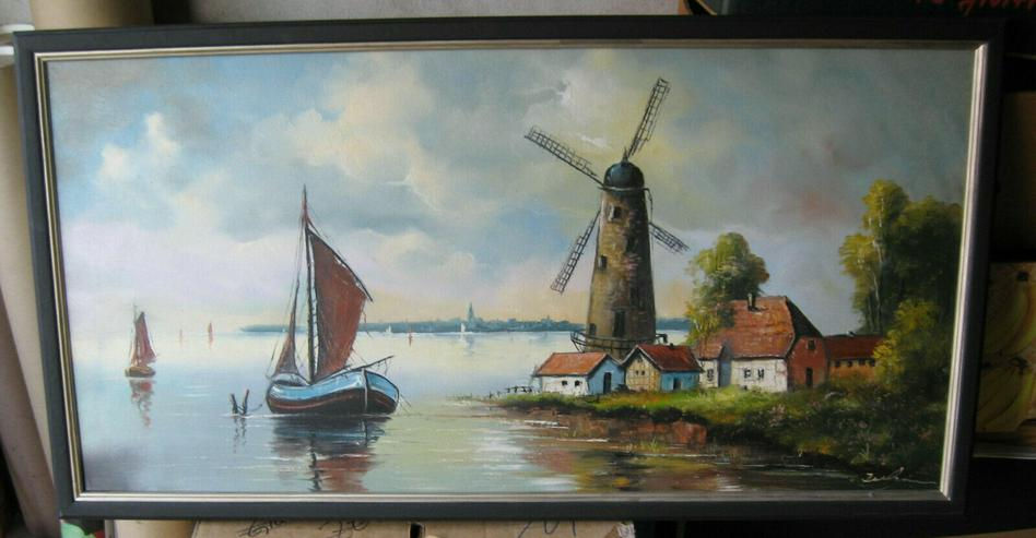 Windmühle an der Ostseeküste