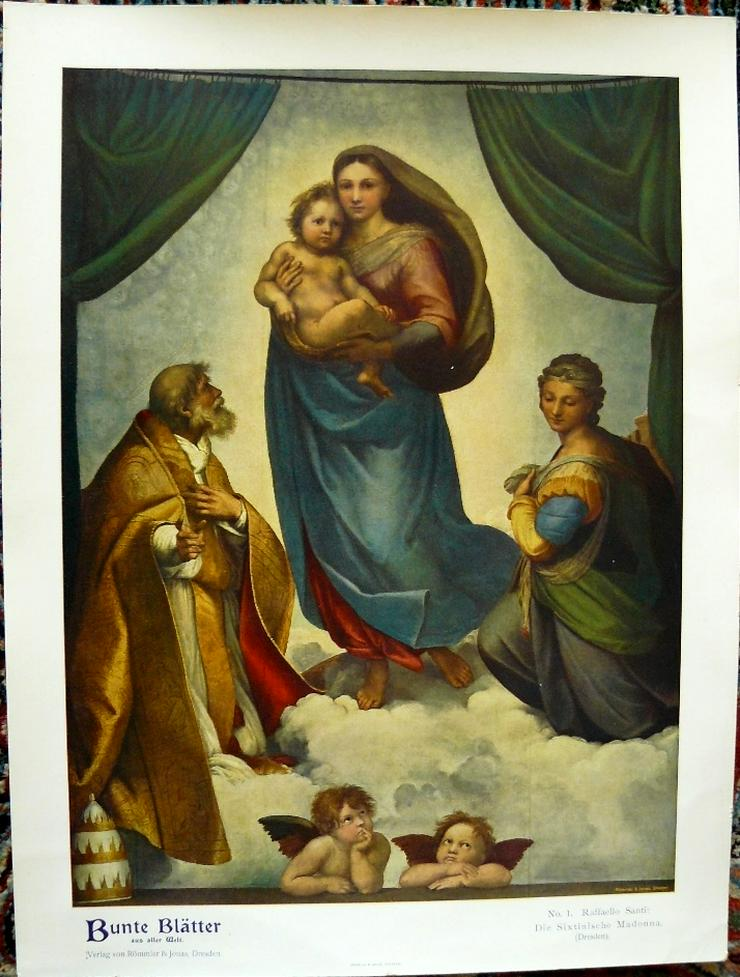 Raffaello Santi Grafik 111 J. alt (B086)