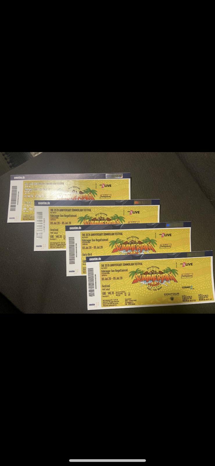 4 Tickets für das Summerjam Festival