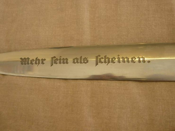 Bild 4: Dolch NPEA aus Wk2, Original Eickhorn Solingen