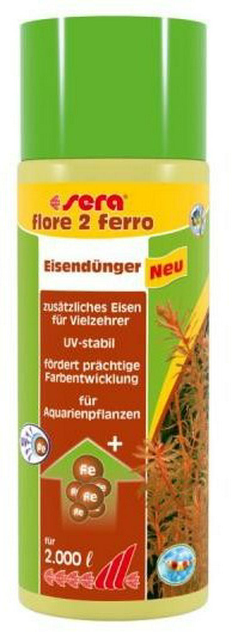 Sera Flore 2 Ferro, 500 ml für 2.000 Liter, Versand