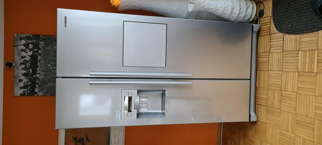 Side by Side Kühlschrank kostenlos an Bastler abzugeben