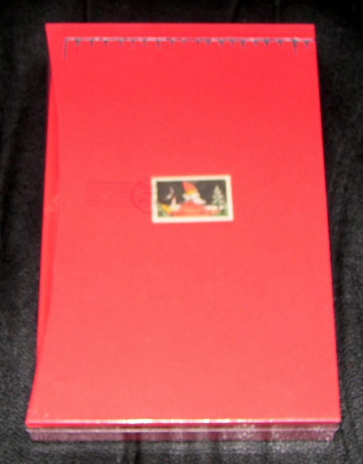 Bild 4: Buch von J. R. R. Tolkien *Briefe vom Weihnachtsmann *Luxusausgabe im Schuber