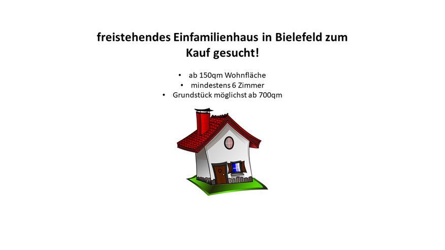 EFH in Bielefeld Ost oder West zum Kauf gesucht - Haus kaufen - Bild 1