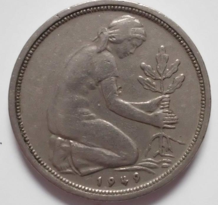50 Pfennig - Deutsche Mark - Bild 1