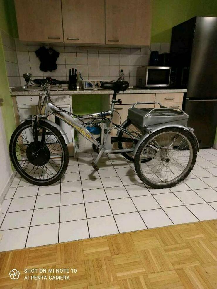 E-Bike (Dreirad) abzugeben