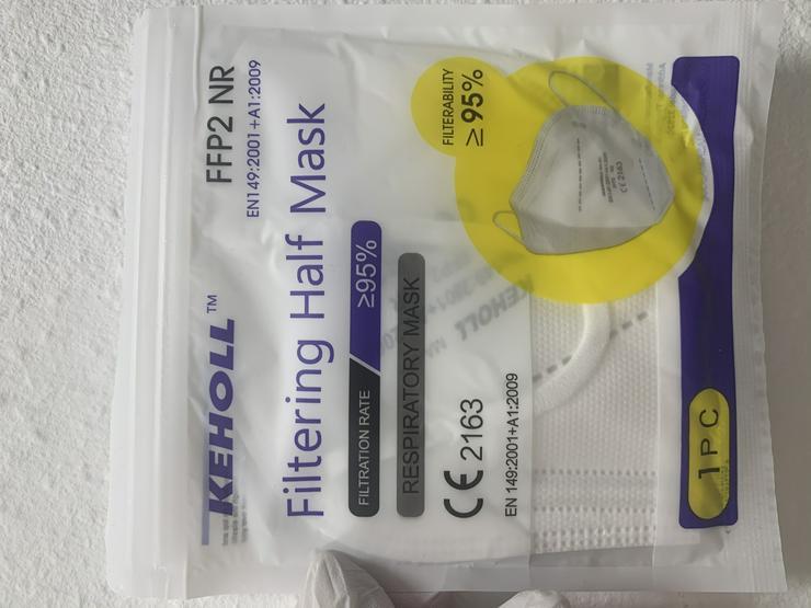 Bild 6: ab 0,45€ ✅Geprüfte zertifizierte Keholl FFP2 Maske sofort lieferbar