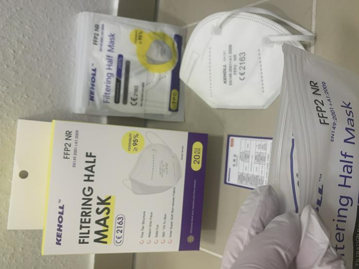 Bild 7: ab 0,45€ ✅Geprüfte zertifizierte Keholl FFP2 Maske sofort lieferbar