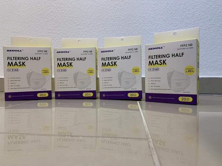 Bild 4: ab 0,45€ ✅Geprüfte zertifizierte Keholl FFP2 Maske sofort lieferbar