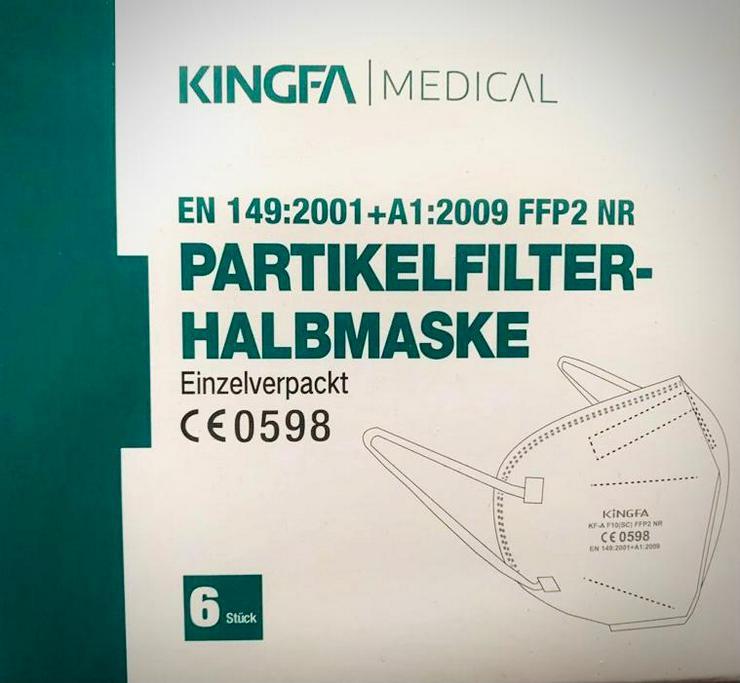ab 0,58€ Kingfa ✅ mit TÜV Rheinland✅ FFP2 NR Maske