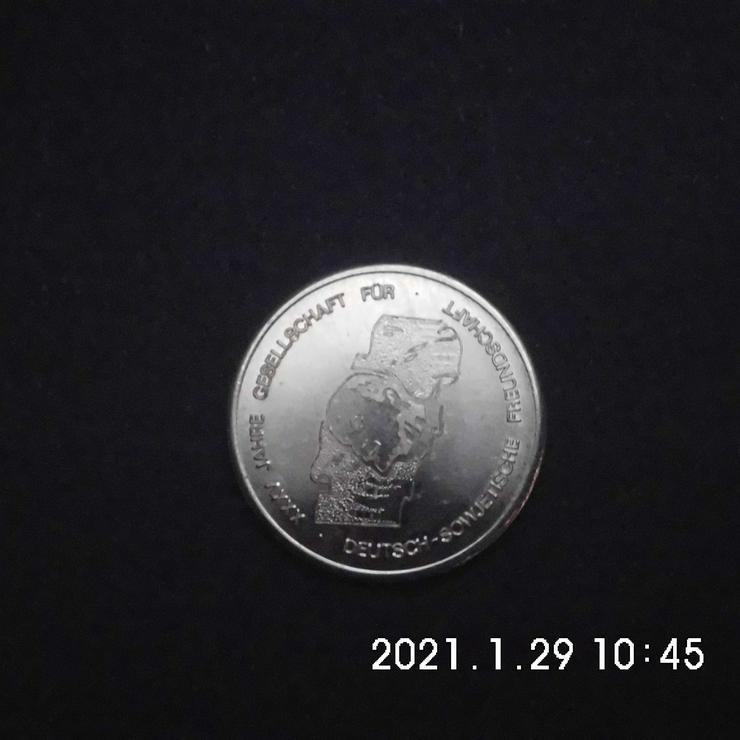 Medaille 35 Jahre Deutsch-Sowjetische Freundschaft
