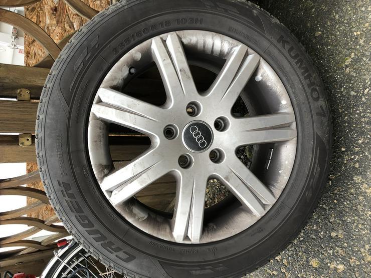 Audi Felgen 4L0071498F Kumho Crugen Winterreifen 235 ...