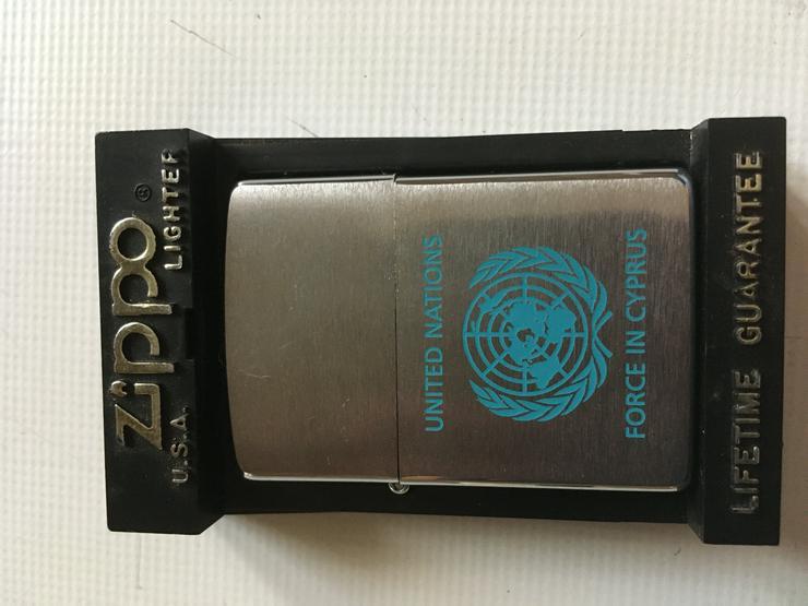 Zippo Feuerzeug United Nation