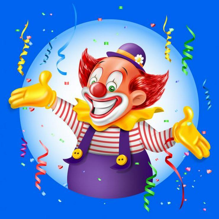 suchen Sie einen Clown für ihren Kindergeburtstag ist Clown Peppino Online Live Show