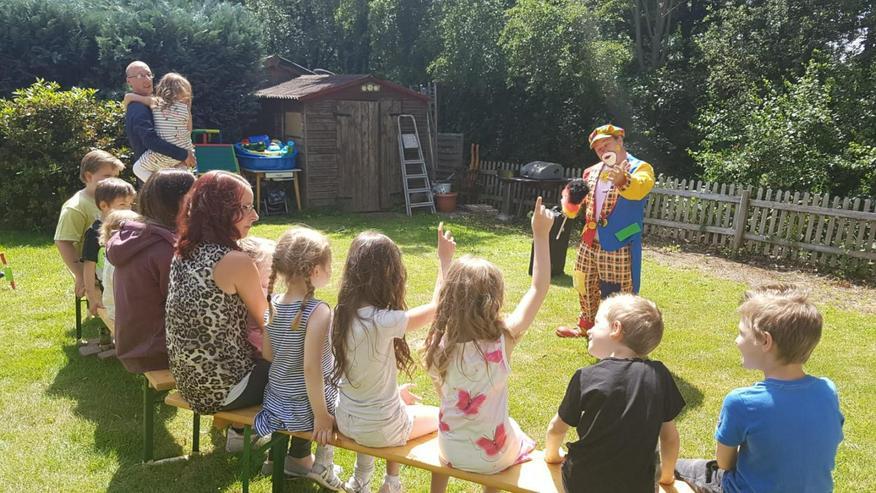 suchen Sie einen Clown für ihren Kindergeburtstag ist Clown Peppino
