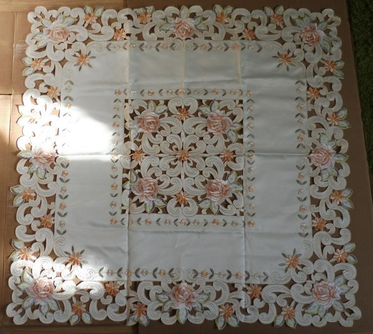 Viereckige Tischdecke / quadratisch 85X85 - Rosen