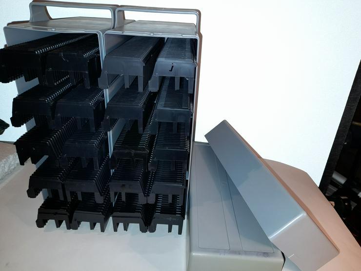 Dia-Stapelboxen / Transportkoffer für 500 !! Dias