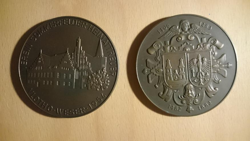 Suche Gedenk Medaillen zu verschenken