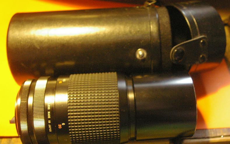 Tokina 300mm für Canon C/FD mit Köcher