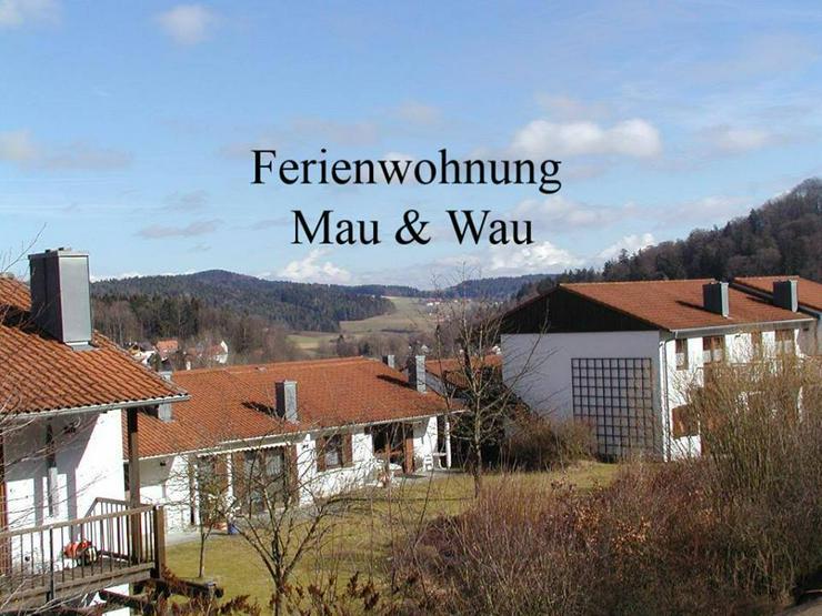 Ferien mit Katzen und Hunden im Bayerischen Wald - Ferienwohnung Mau und Wau - Ferienwohnung Bayrischer Wald - Bild 1