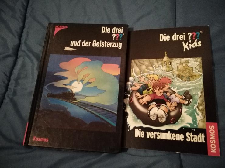 Bild 2: Jugendbücher, Die drei ???, Max & Moritz, Hexe Lilli, Spongebob