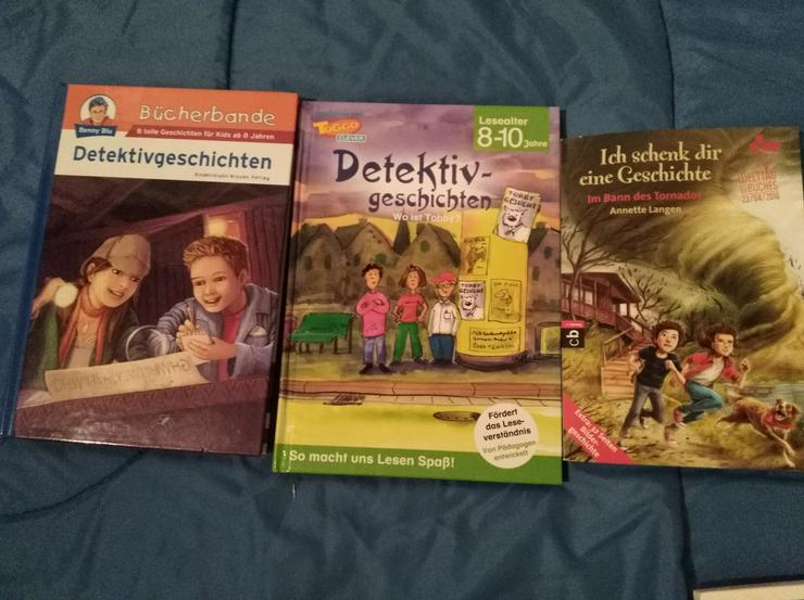 Bild 6: Jugendbücher, Die drei ???, Max & Moritz, Hexe Lilli, Spongebob