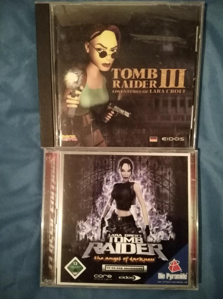 Tomb Raider - Spiele für Play Station 1 und PC