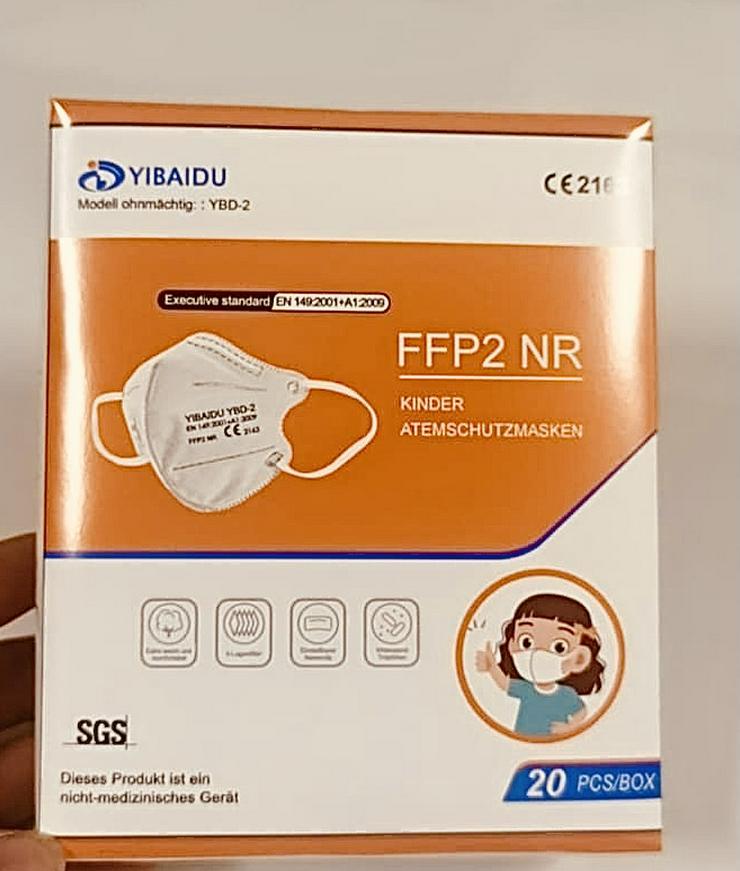 ab 0,58 Euro FFP2 Kindermaske * Deutsche Beschreibung *