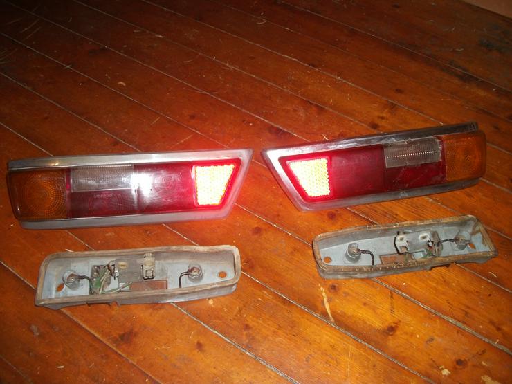 Mercede Heckflossen 65-67 Rücklichter und Blinkergläser
