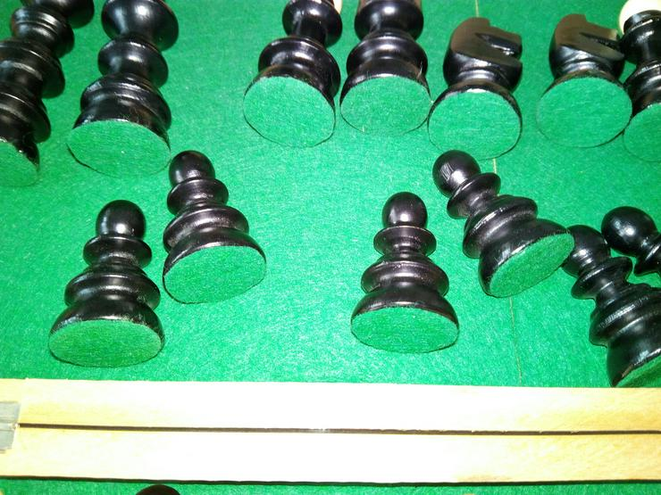 Bild 5: Schach spiel aus holz € 15+ porto