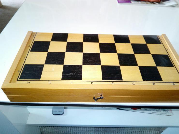 Schach spiel aus holz € 15+ porto - Sonstiges - Bild 1