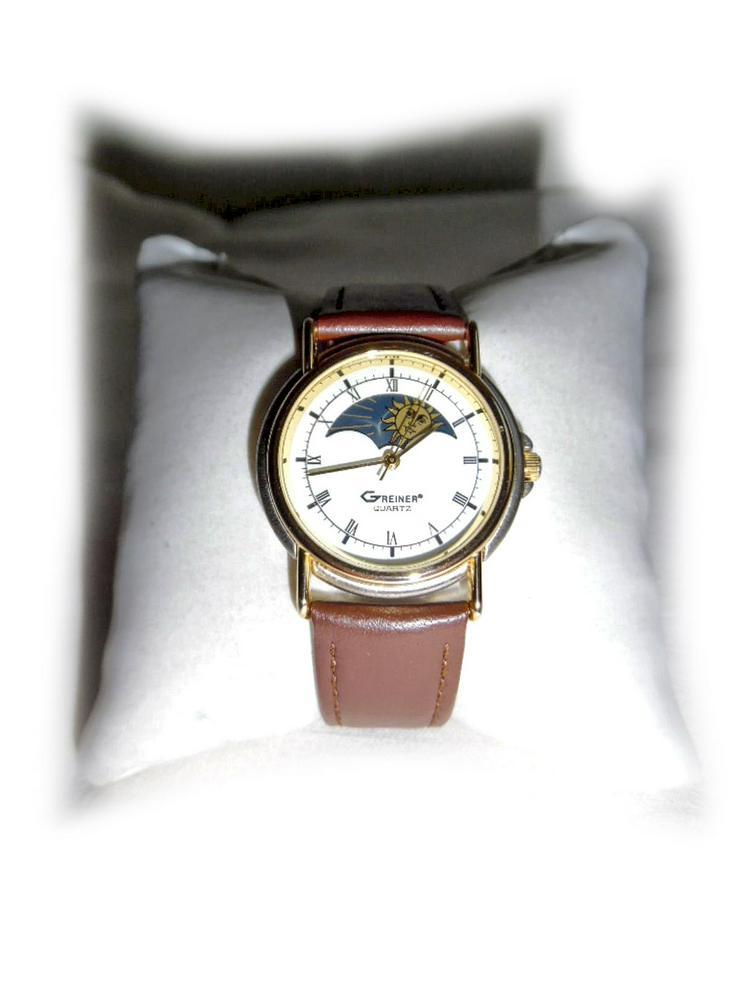 Elegante Armbanduhr von Greiner