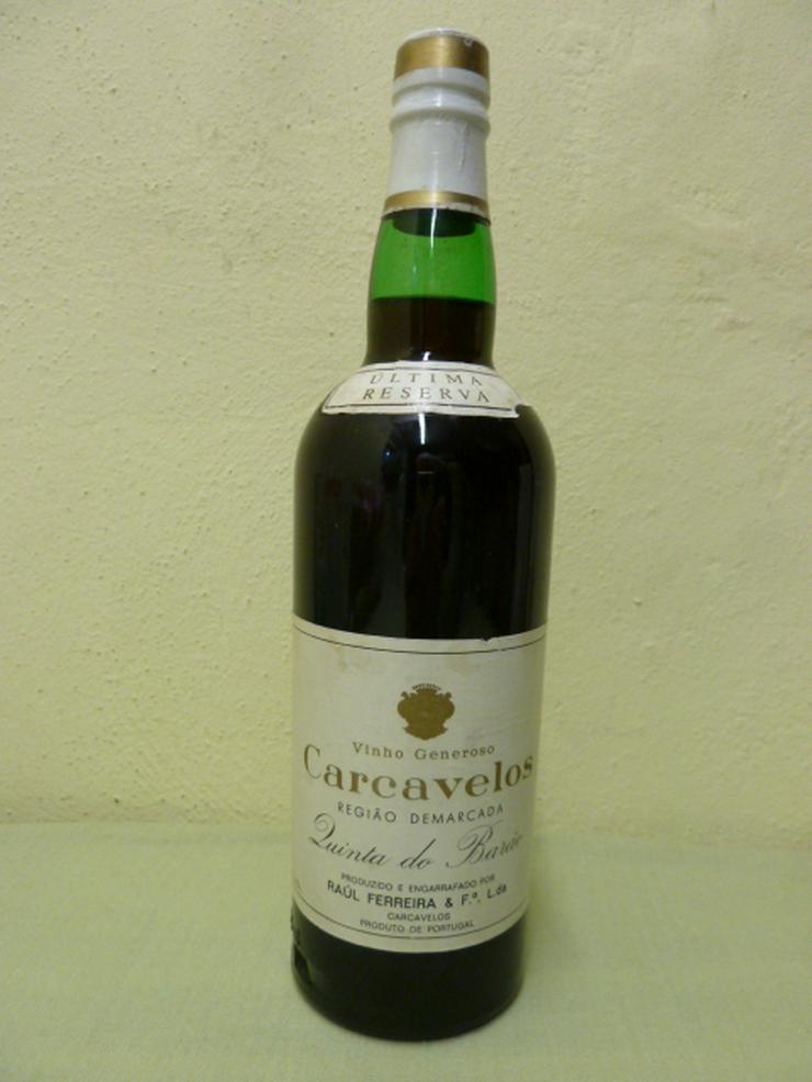 Likörwein Carcavelos - Wein aus Portugal - Bild 1