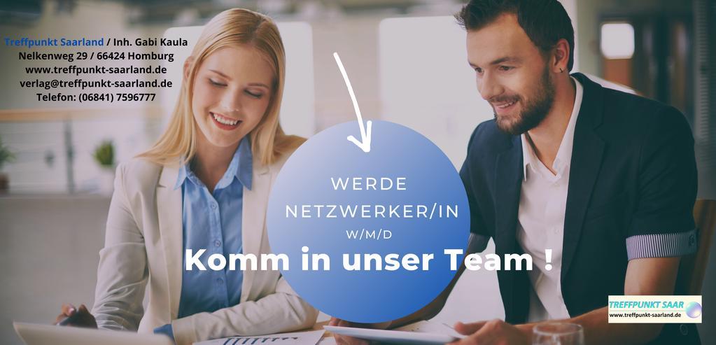 Wir suchen dich (w/m/d) - Online-Magazin Treffpunkt Saarland