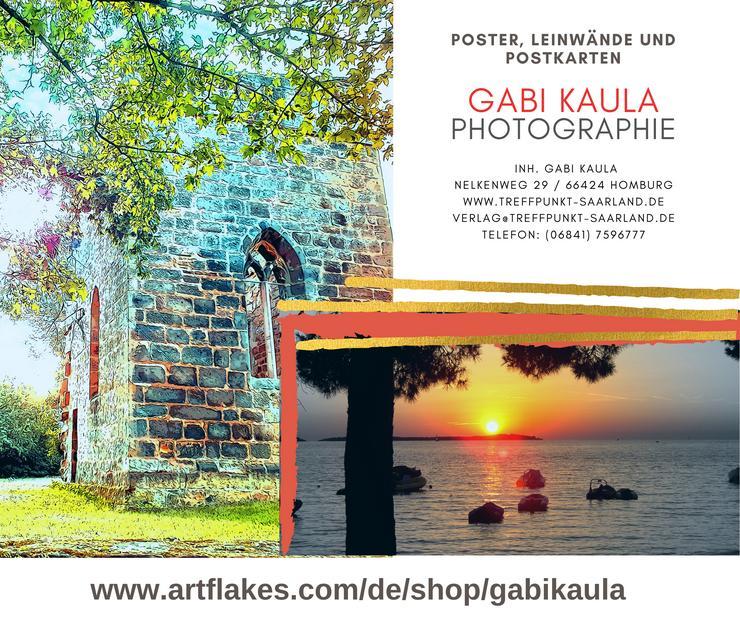 Poster, Leinwände und Postkarten